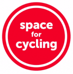 Space For Cycling round logo from CTC